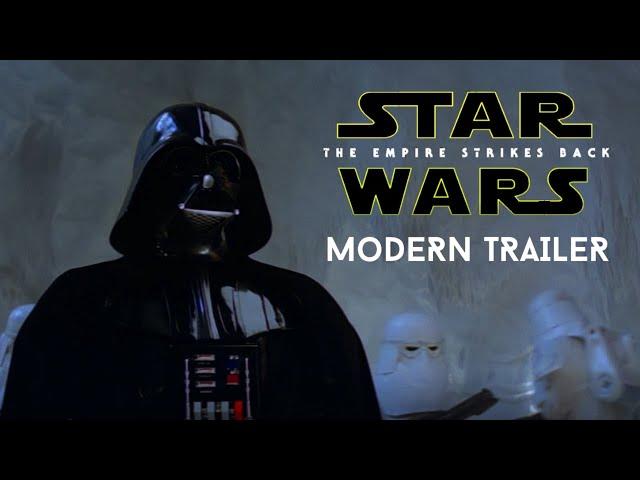 STARWARS EMPIRE STRIKES BACK 40TH ANNIVERSARY (REMASTERED) Trailer