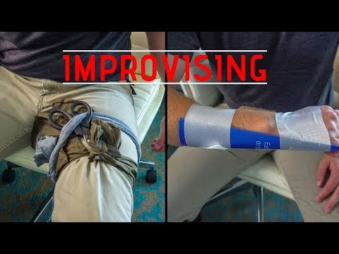 How to Improvise: Tourniquet, Chest Seal, Splint