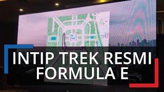 Intip Trek Resmi Formula E di Monas, Depan Kantor Gubernur DKI Jakarta Jadi Titik Start dan Finish
