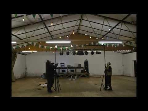 Aufbau Penterschützenhalle (Licht)