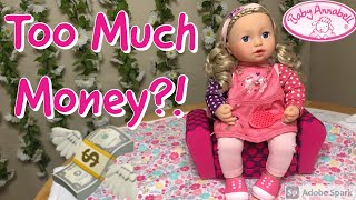Worth The Money?! Baby Annabell Sofia So Soft Doll Review, Unboxing, and Comparison