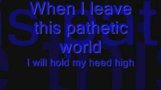 Dark Funeral - My Funeral Lyrics!!