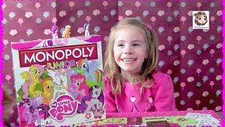 Wir spielen MONOPOLY JUNIOR ★ My Little Pony Edition | Hasbro Gaming