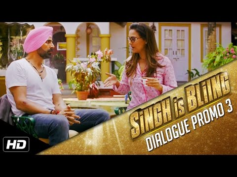 Singh Is Bliing | Dialogue Promo 3 | Akshay Kumar | 2nd October
