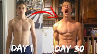 100 PUSH UPS A DAY FOR 30 DAYS CHALLENGE - Epic Body Transformation