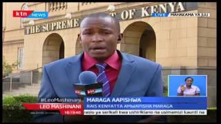 Leo Mashinani na Ali Manzu: Maraga aapishwa kama jaji mkuu, 19/10/2016