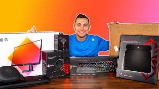 Gamers Paradise OMEN Unboxing + 30L Gaming PC Setup