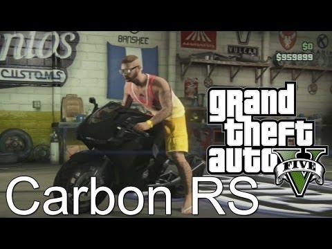 comment debloquer la carbon rs gta 5