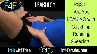 It's Not OK to Pee your Pants - Leakage and Diastasis / Fit4Females