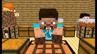 [Minecraft animation] Minecraft player School - Crafting
