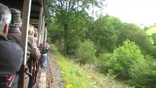 preview picture of video 'Launceston Steam Railway  Darjeeling  victor parker video'
