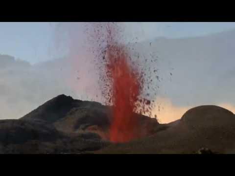 Der spuckende Vulkan