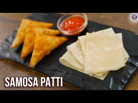How To Make Samosa Patti   Homemade Samosa Roll Sheet   Samosa Folding   Onion Samosa Recipe   Varun