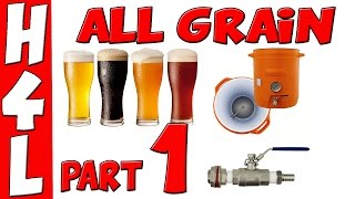 1. How To Brew ALL GRAIN HOMEBREW FOR BEGINNERS (Brown Ale)