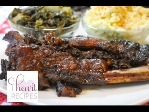Slow Cooker Beef Barbecue Ribs Recipe – I Heart Recipes