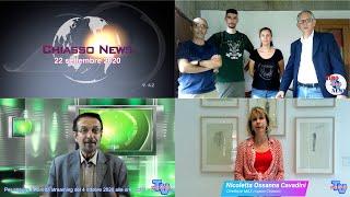 'Chiasso News 22 settembre 2020' video thumbnail