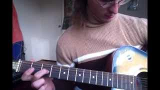 Sticky Fingers - These Girls guitar tutorial