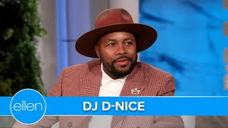 DJ D-Nice is Taking His Virtual Dance Party on the Road