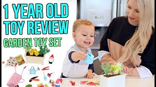 1 YEAR OLD'S FIRST TOY REVIEW *ADORABLE*