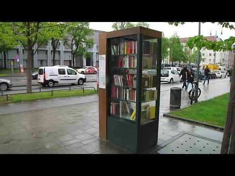 Bogenhausen bekommt einen Bücherschrank