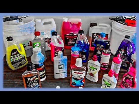 Best Car Wash Detergents/Products & Techniques Reviewed