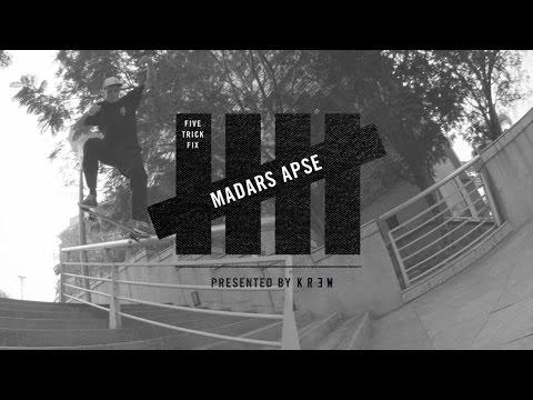 5 Trick Fix: Madars Apse   TransWorld SKATEboarding