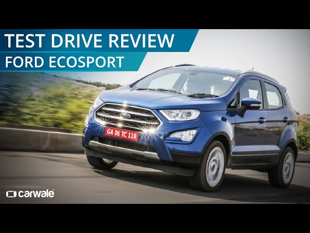 2017 Ford EcoSport Facelift Test Drive Review