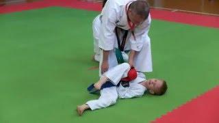 Детский нокаут в каратэ фудокан