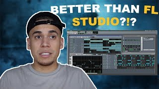 Making A Beat On A FREE Beat Maker!! (Better Than FL Studio?!) |  Lmms Beat Making