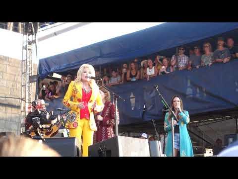 """Eagle When She Flies"", Dolly Parton featuring the Highwomen, Newport Folk Festival, 7/27/2019"