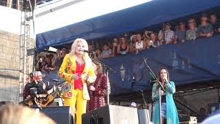 """Eagle When She Flies"", Dolly Parton Featuring The Highwomen, Newport Folk Festival, 7272019"