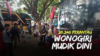 Jakarta Jadi Zona Merah, Tercatat Lebih Dari 20.245 Perantau Asal Wonogiri Mudik Dini