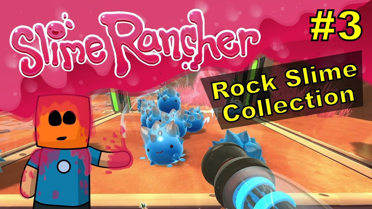 Slime Rancher #3 | Rock Slime Collection