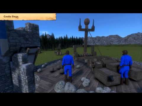 Trailer de Medieval Engineers