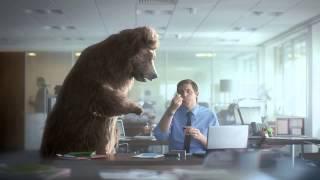 Müller Riso   Reklama z Niedźwiedziem