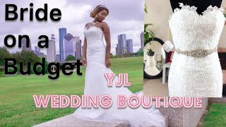YJL | Mermaid Bridal Gown For Less...