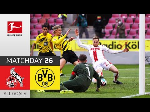 Haaland scores first & last goal! | FC Köln – BVB | 2-2 | All Goals | Matchday 26–Bundesliga 2020/21