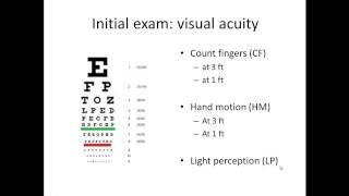 Basic Eye Exam - Part I