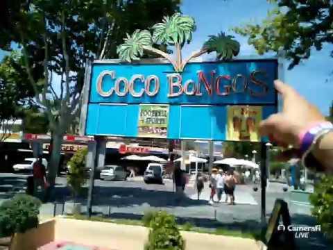 Coco Bongos Magaluf right now!