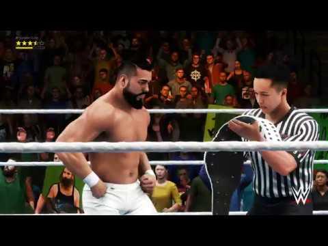 WWE 2K20 Fatal 4 Way Match Intercontinental Championship Summerslam 2 4K