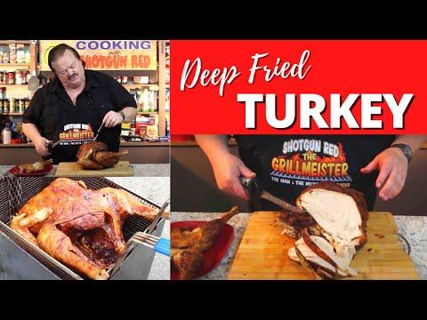 Deep-Fried Turkey!  (In the Cajun Fryer)