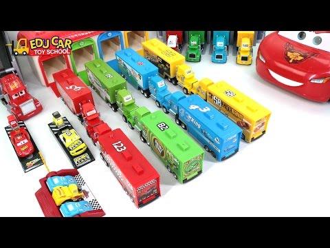 Learning Color Special Disney Pixar Cars Lightning McQueen Mack Truck Quick Starter kids car toys