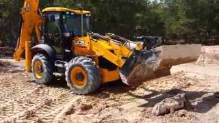JCB 3CX Super  Backhoe Test Drive