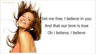 I Believe Tata Young Lyrics.