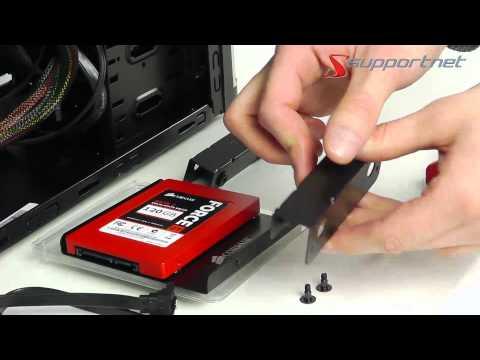 Wie eine SSD in einen Desktop-PC einbauen. Supportnet-Tipp