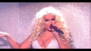 Moves Like Jagger (AMA's 2011) - Christina Aguilera's Part (HD)