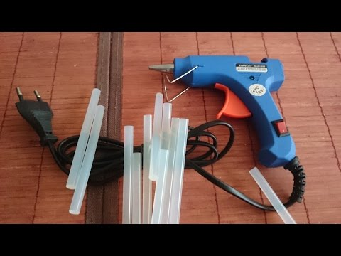 Unboxing & Review NEW  20W Trigger Electric Hot Glue Gun