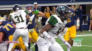 Playoffs Week 4 - Quicken Loans Game of the Week - Highland Park Scots vs Mansfield Lake Ridge Eagle