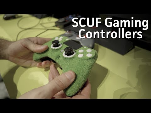 Want artificial turf or leather on your controllers? Scuf Gaming has them!