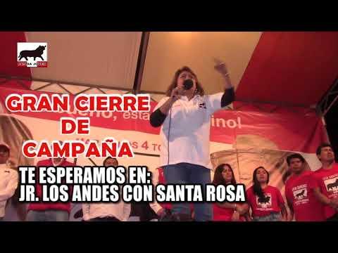 CIERRE DE CAMPAÑA DE PATRIA JOVEN LUNAHUANA
